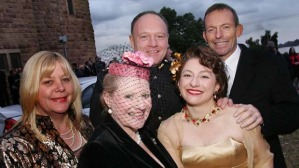 Some of the  attendees at Sophie Mirabella's wedding paid their own expenses. But some didn't.