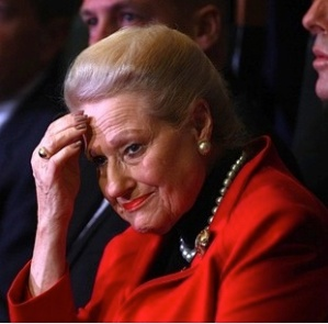 Speaker Bronwyn Bishop ponders her next response to the travel rorts scandal.  Photograph: Mick Tsikas/AAP
