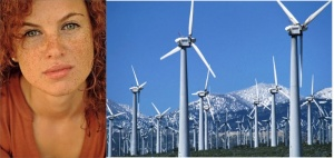 A clear link between freckles and wind farms