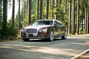 Bentley Flying Spur: well within budget.