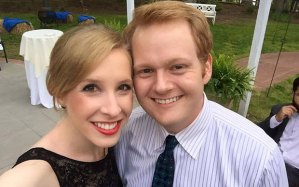 Alison Parker, pictured with her boyfriend, WDBJ7 anchor Chris Hurst
