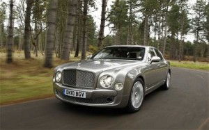 The diesel-powered Bentley is produced by VW