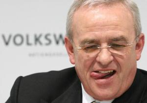 """""""I am shocked by the events of the past few days,"""" said Volkswagen's ex-chief executive Martin Winterkorn"""