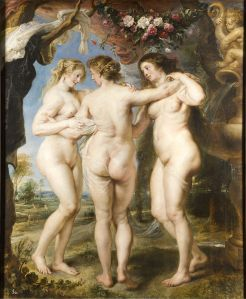 The Three Graces by Peter Paul Rubens_