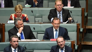 A new view of the world. Tony Abbott on the backbench
