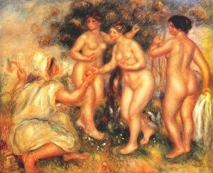 The judgment of Paris - Pierre-Auguste Renoir