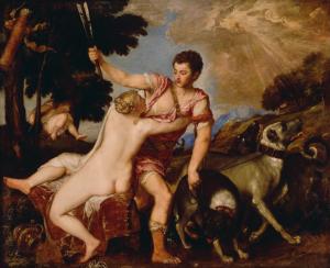 Titan Venus and Adonis