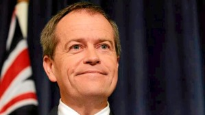Bill Shorten with :-)