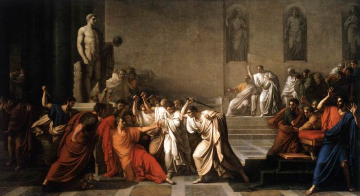 Vincenzo Camuccini The Death of Caesar  1798