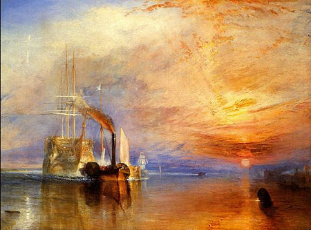 TurnerThe Fighting Temeraire tugged to her last berth to be broken up.jpg