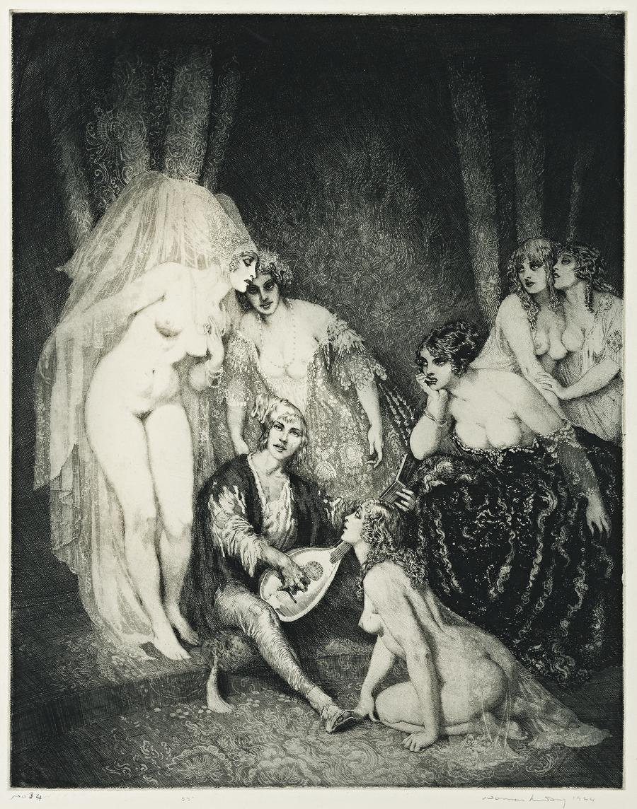 THE RAGGED POET, 1924