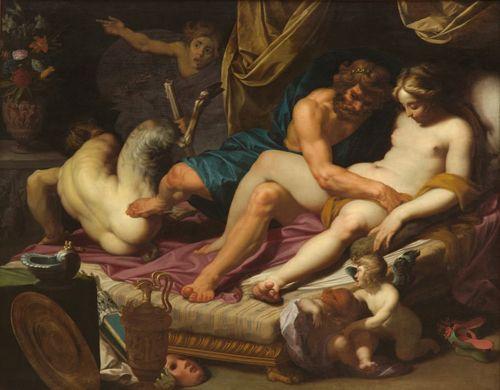 Bartholomeus Spranger, Hercule et Omphale,.jpg