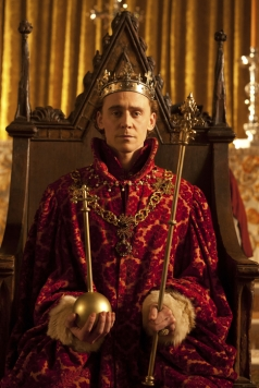 Programme Name: The Hollow Crown - TX: n/a - Episode: Henry IV Part 2 (No. Henry IV Part 2) - Embargoed for publication until: n/a - Picture Shows: Henry V (Tom Hiddleston) - (C) Neal Street Productions - Photographer: Joss Barratt