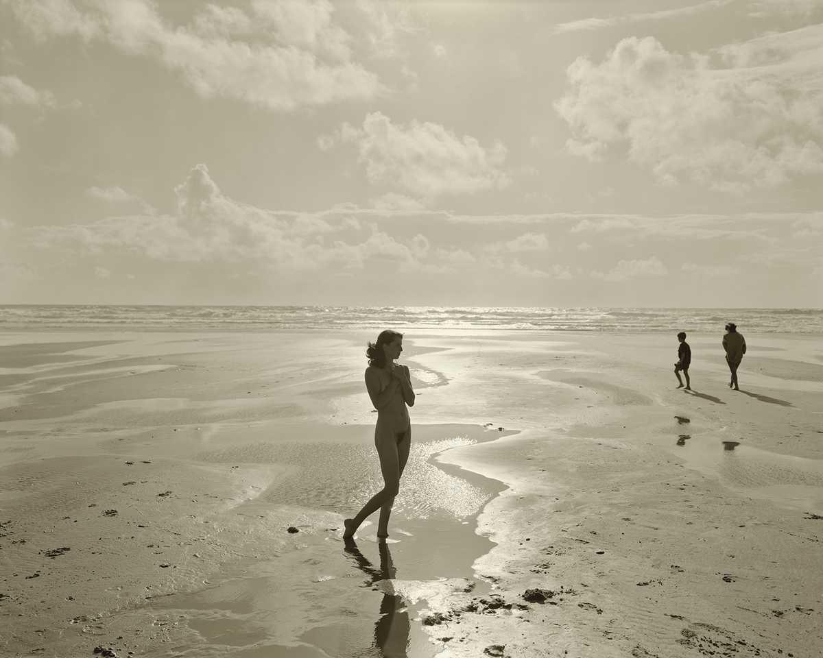 Beach montalivet nude france beach